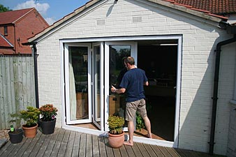 Doors Security Pvc Bi Fold