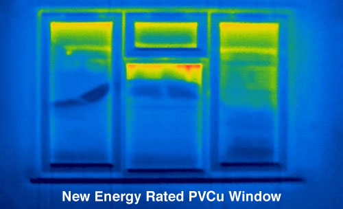 New Energy Rated PVCu Window